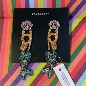 Baublebar Mermaid Earrings - never worn